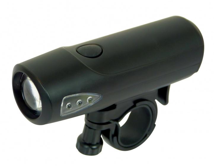 Dresco voorlicht Sport 1 led batterijen zwart