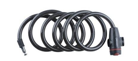 Dunlop Spiraalslot 1800 x 12 mm zwart