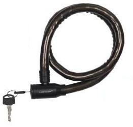 Dunlop Spiraalslot 800 x 18 mm zwart