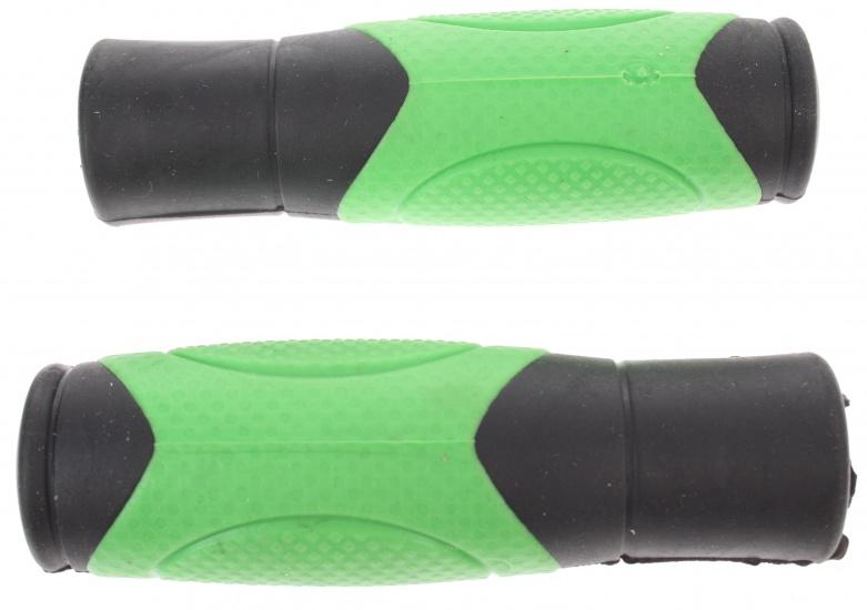 Dutch Perfect handvat 215 Comfort 120 mm rubber groen per set