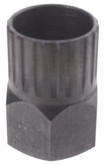 Eldi cassette afnemer 10,5 mm zwart