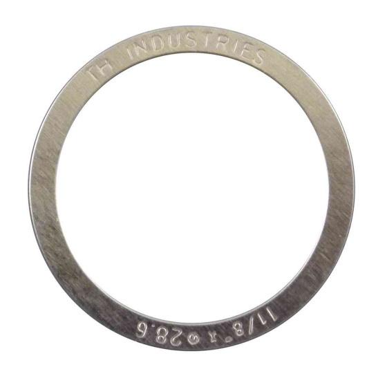 Elvedes balhoofdspacer MR006 1 1/8 inch 0,25 mm zilver