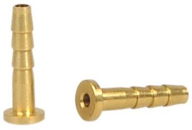 Elvedes Leidingnippels voor originele leiding Shimano goud 10 stuks