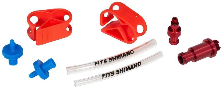 Elvedes ontluchtingsadapterset Shimano 8 delig