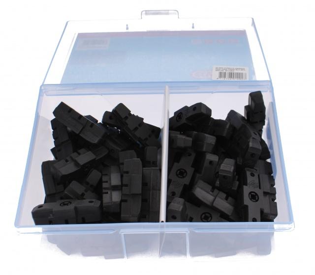 Elvedes remblokrubbers hydraulisch 51 x 17 mm zwart 50 stuks
