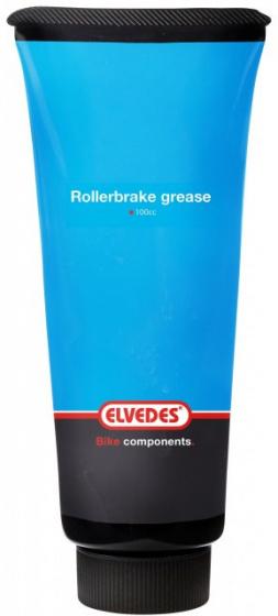Elvedes rollerbrakevet Grease Gun hervulling 110 gram blauw/zwart