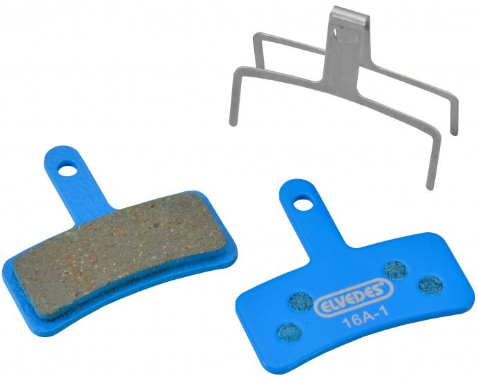 Elvedes Schijfremblokken Tektro Dorado 6905 E bike 2 stuks blauw