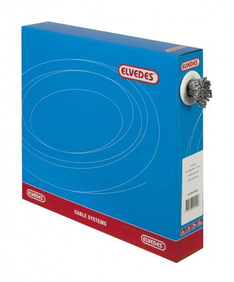 Elvedes Versnelling binnenkabel RVS 225 cm (6472) 100 stuks