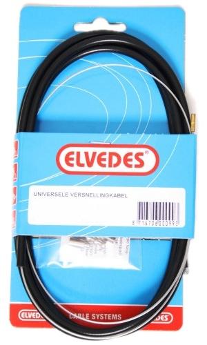 Elvedes Versnellingskabel 1.10/2.00 6440 P.V. Met Voering