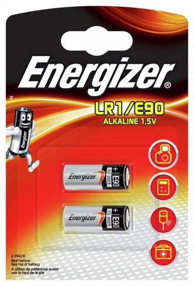 Energizer batterijen LR1/E90 Alkaline 1,5V 2 stuks