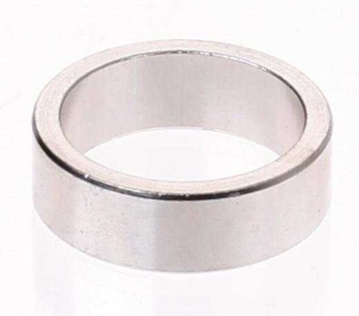 Ergotec Opvulring Balhoofd Aluminium 1 Inch 20mm Zilver