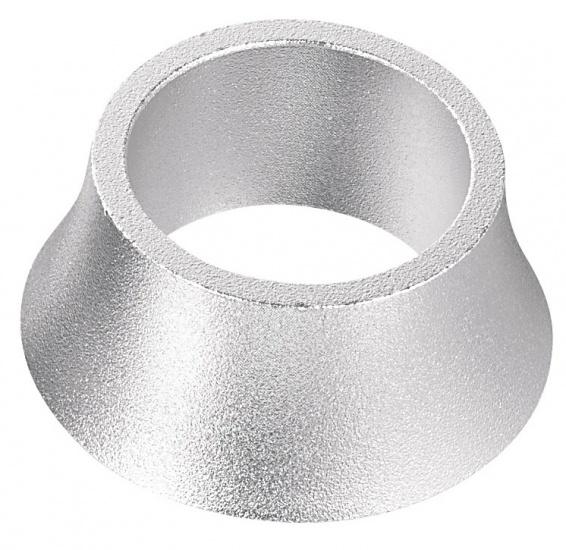Ergotec Opvulring Balhoofd Aluminium 1 1-8 Inch 20mm Zilver