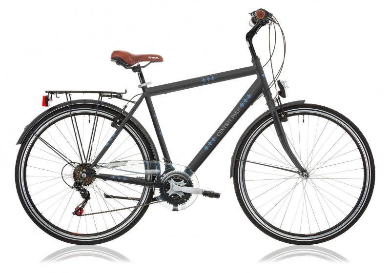 Excel Central Park 28 Inch 53 Cm Heren 6v V-brakes Antraciet online kopen