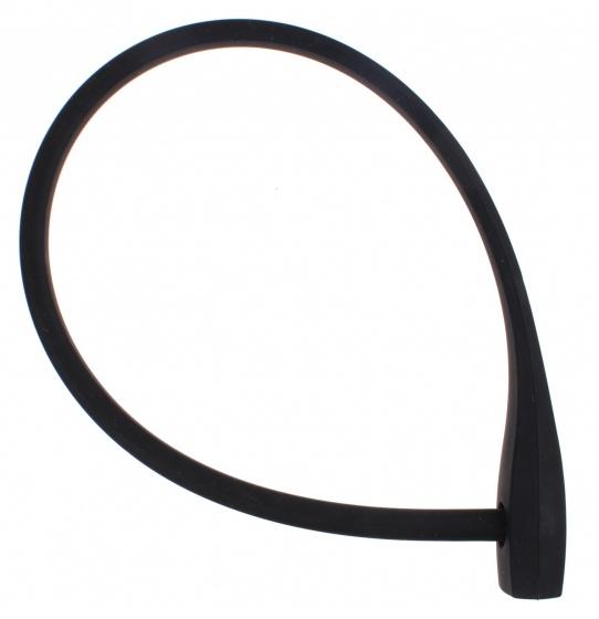 Falkx kabelslot 600 x 10 mm zwart
