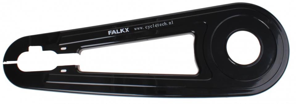 Falkx kettingkast voorzet 26/28 inch zwart