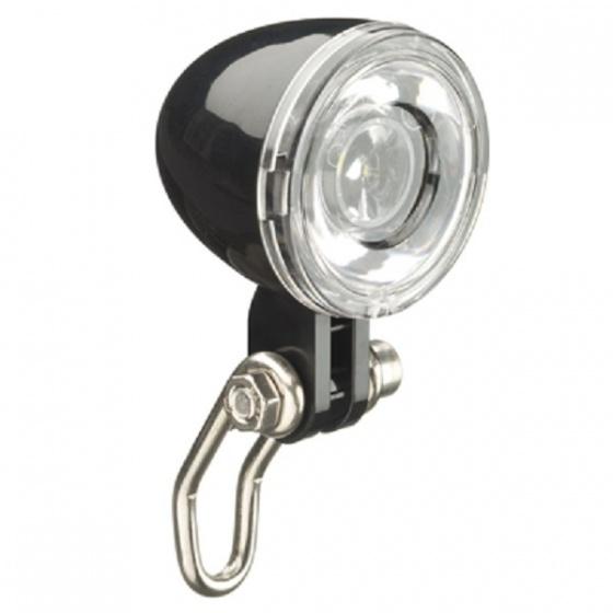 Falkx koplamp EL5D E Bike dynamo zwart