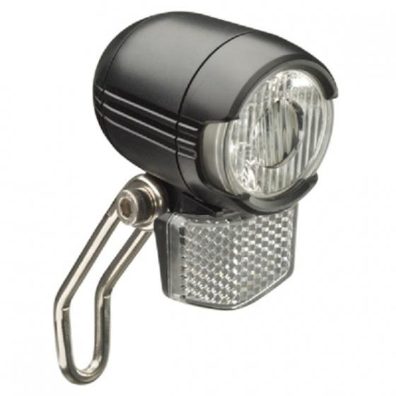 Falkx koplamp EL6D E Bike zwart