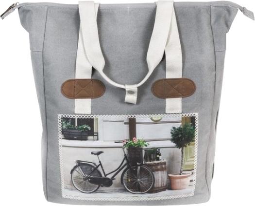 FastRider shopper Cyclo 20 liter grijs