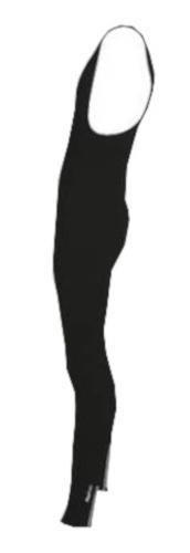 FastRider Winterfietsbroek met bovenstuk unisex zwart maat S