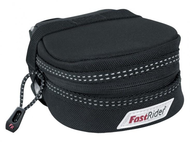 FastRider zadeltas Excludus 0,7 liter zwart