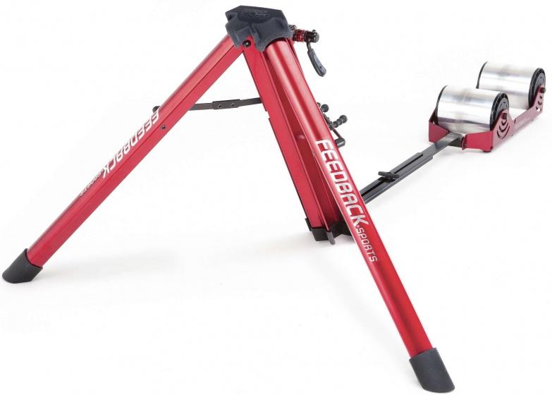 Feedback Fietstrainer Omnium Portable (progres. weerstand) Unisex Rood