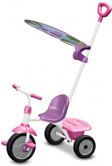 Fisher Price driewieler Glee Plus Meisjes Wit/Roze