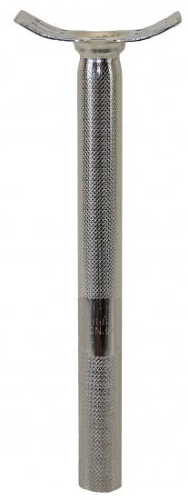 Fun Zadelpen vast eenwieler 25,4 x 300 mm staal chroom