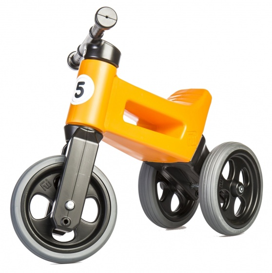 Funny Wheels Rider Sport Cool loopfiets Junior Oranje