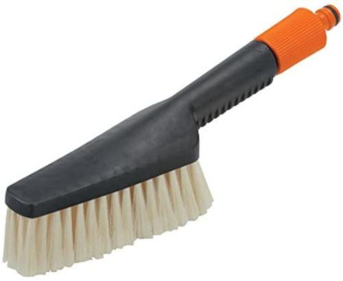 Gardena handwasborstel 30 x 8 cm staal zwart