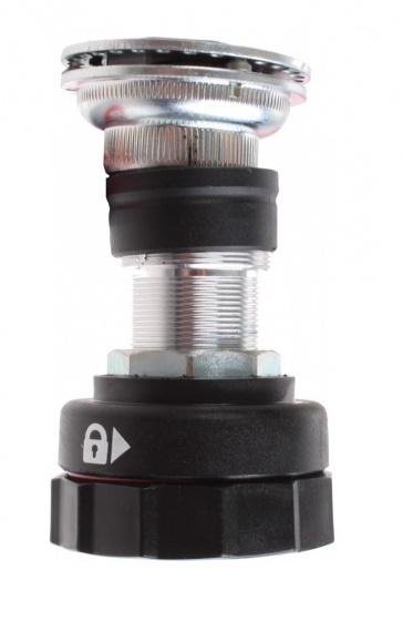 Gazelle Balhoofd stuurblokkering 22.2-54.5 mm zwart