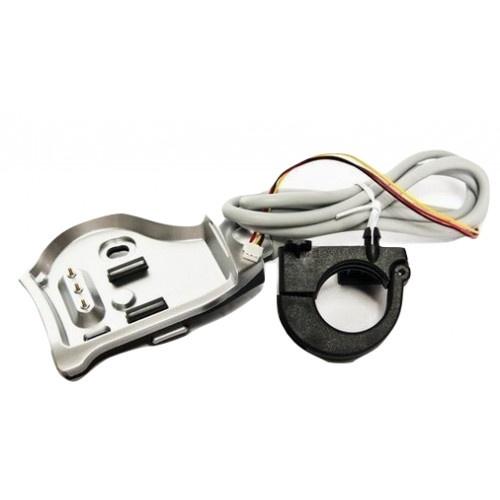 Gazelle houder voor regelaar voor Innergy E bike zilvergrijs