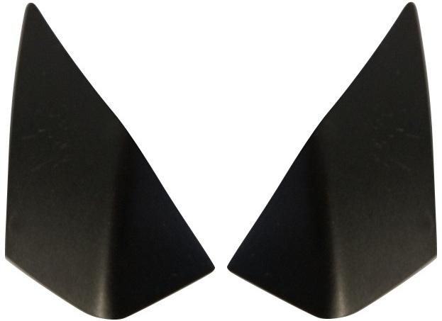 Gazelle jasbeschermer kapjes links/rechts bovenzijde zwart 2 stuks