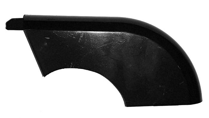 Hesling kettingkast achterkap Xcero 001 zwart 13 x 6 cm