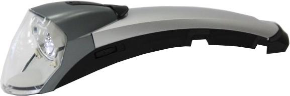 Gazelle koplamp Fendervision zwart-zilver