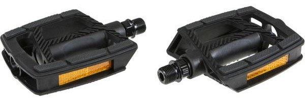 Gazelle platformpedalen 9/16 inch antislip FP 872 zwart