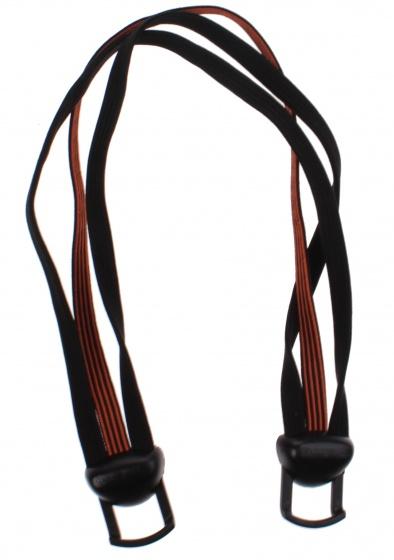 Gazelle Power Vision snelbinder 28 inch zwart/oranje