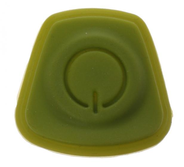 Gazelle rubberen knop voor Fender koplamp groen