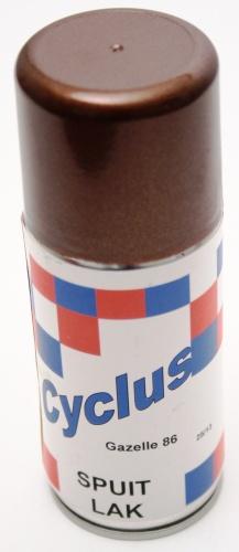 Gazelle Spuitlak 150 ml Bruin Metallic