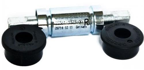 Gazelle trapas Jive Thun 120 x 35 mm press fit JIS zilver