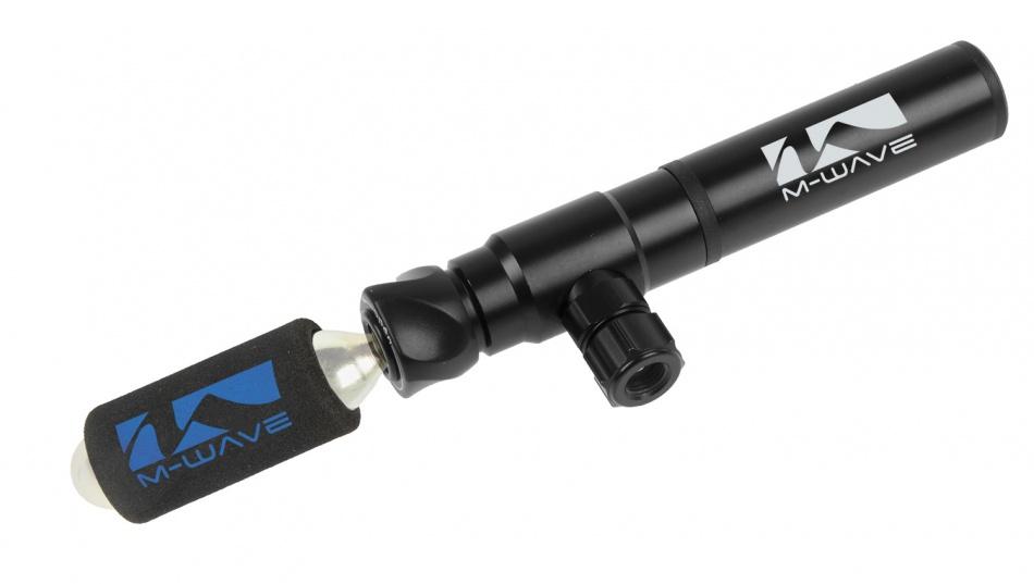 M Wave Mini Pomp Hybrid Met Adapter Co2 Patroon