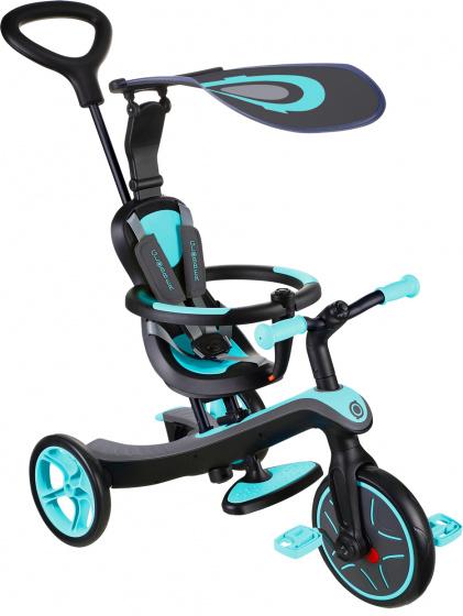 Globber Trike Explorer 4 in 1 Junior Blauw/Zwart