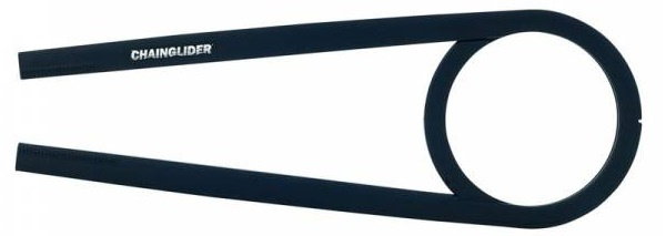 Hebie chainglider 350F 44T E1 445 175 mm zwart