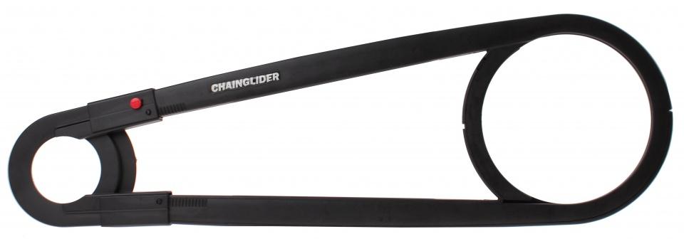 Hebie kettingkast Chainglider 42T 61 cm zwart