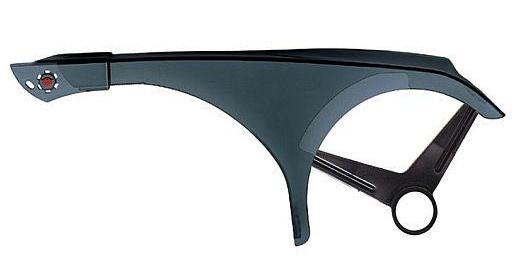 Hebie kettingscherm Dolphin transparant