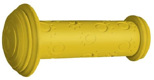 Herrmans handvatten Grip 82A junior 95 x 22 mm geel 2 stuks