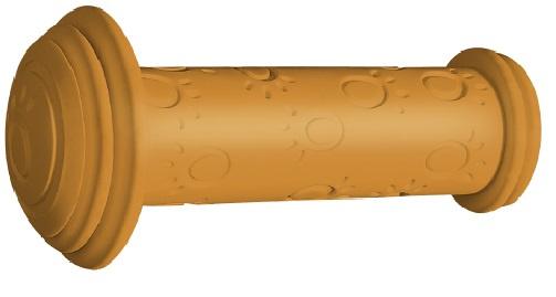 Herrmans handvatten Grip 82A junior 95 x 22 mm oranje 2 stuks