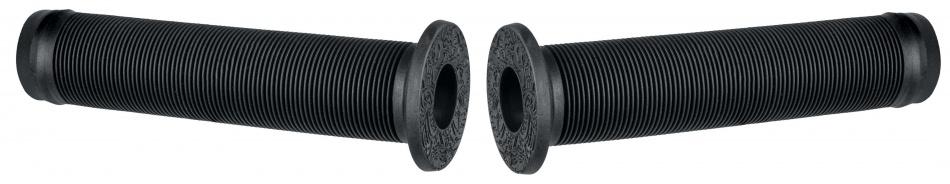 Herrmans handvat Ink 102B 140 mm rubber zwart 3 delig