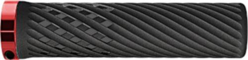 Herrmans handvatten Luna Lock 130 x 22 mm elastomeer rood/zwart