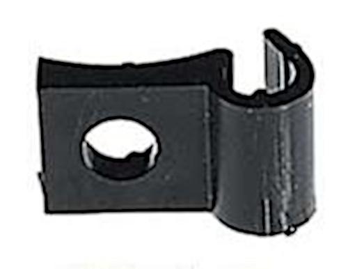 Herrmans kabelhouder enkel 4,6 mm zwart