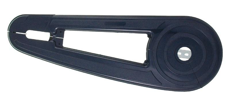 Hesling Kettingkast 28 Inch Open Blauw 67 x 23 cm